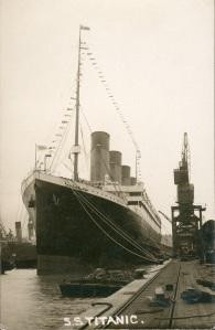 titanic zarpó de Southampton